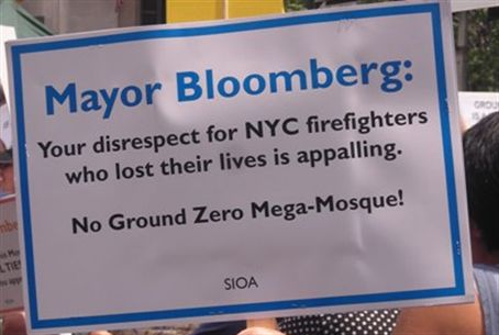 Ground Zero Mosque rally