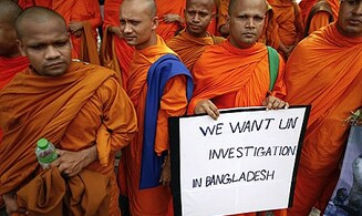 Muslims Target Buddhists Over Koran Facebook Image