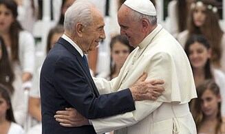 Pope to Host Peres and Abbas on Sunday