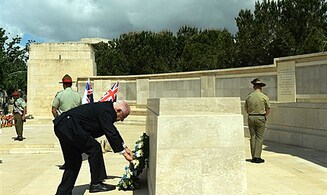 Rivlin Honors Australia, New Zealand's Fallen