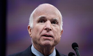 McCain stops brain cancer treatment