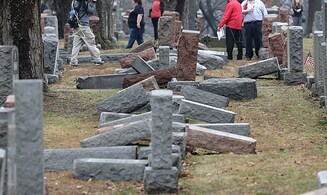 Headstone smashed, dog let loose at Jewish cemetery in Estonia
