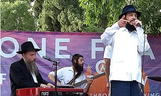 Couple weds during Tzfat 'One Flame' concert