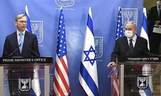 Prime Minister Netanyahu meets with US envoy on Iran Brian Hook