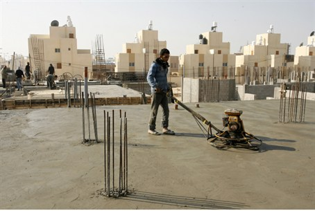 construction in Gaza