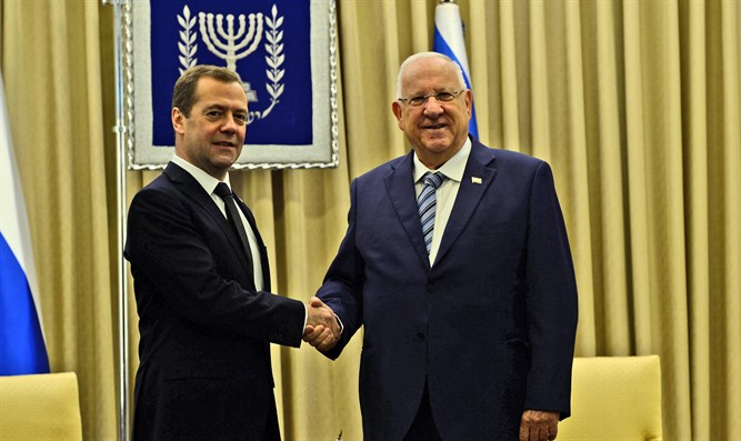 Rivlin and Medvedev today