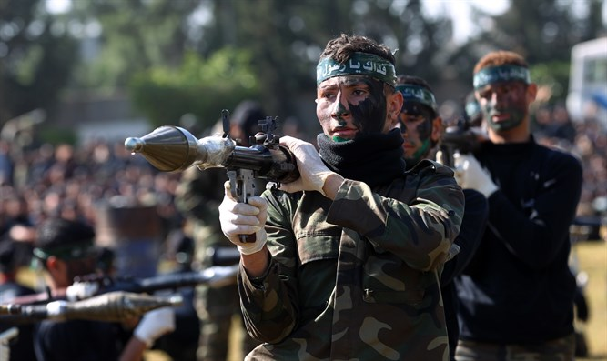 Hamas training camp in Khan Younis