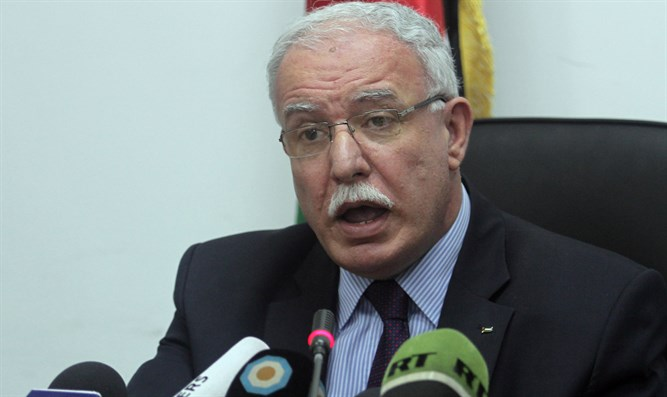 PA foreign affairs chief Riyad Al-Maliki