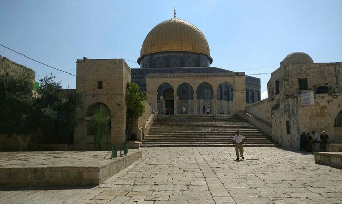 Temple Mount on Tisha B'Av