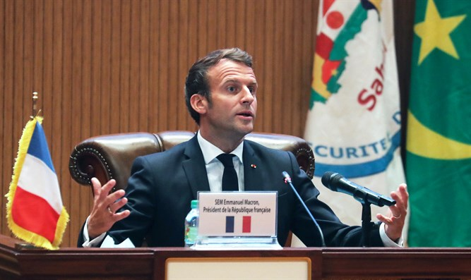 Emmanuel Macron at G5 Sahel summit, June 30th 2020