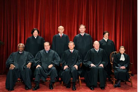 US Supreme Court judges