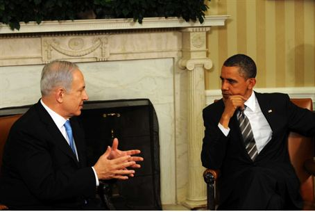 Obama meets Netanyahu