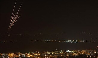 Heavy Rocket Fire on Central Israel