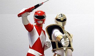 Red Power Ranger Arrested for Murder with Sword