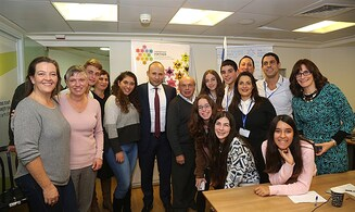 Bennett and Sharansky mark 'Diaspora Jewry Week' with students