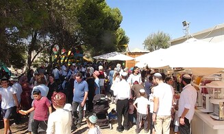 Watch: Celebrating Sukkot in the heart of Jerusalem