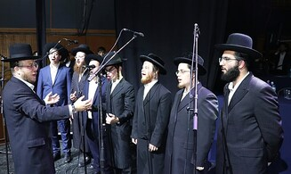 Individuals with Disabilities Perform Before Thousands at the Siyum HaShas in Jerusalem