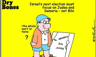 Election must focus on Judea and Samaria – not Netanyahu