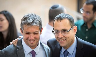 Establish Right-haredi government with Yoaz Hendel and Tzvi Hauser