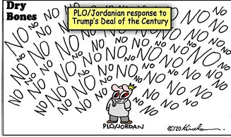 So Jordan backs the PLO in rejecting Trump 'Deal of the Century'