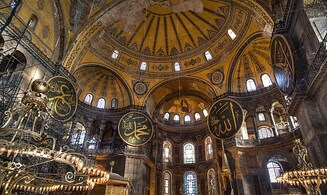 Hagia Sophia is a mosque. What about  the Temple Mount and Hevron?