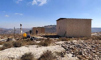 Samaria town rebuilt - and evacuated once again