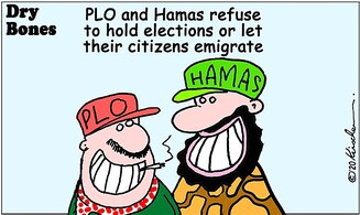 PLO  and Hamas should let their citizens emigrate