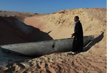 Egyptian natural gas pipeline hit by RPG in S