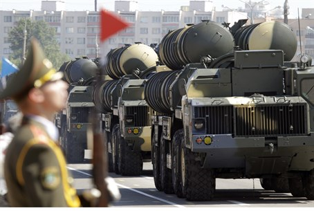 S-300 missile defense batteries