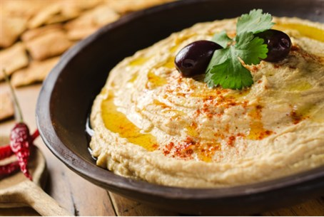 Hummus (illustration)