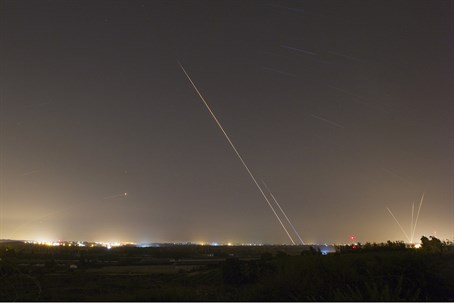 Rockets fired from Gaza (file)