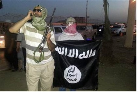 Jihadis from ISIS in Mosul, Iraq