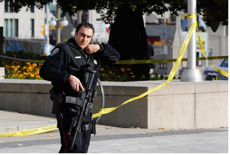 Site of Ottawa shooting attack