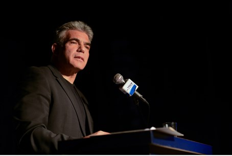 Lapid at Yesh Atid conference in Tel Aviv