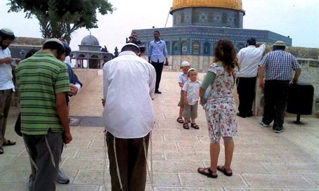 Measure intended to stop Jews 'illegally' praying