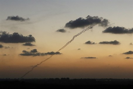 Rocket fire from Gaza