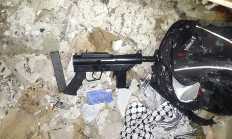 Weapon used in shooting attack seized by Israeli forces