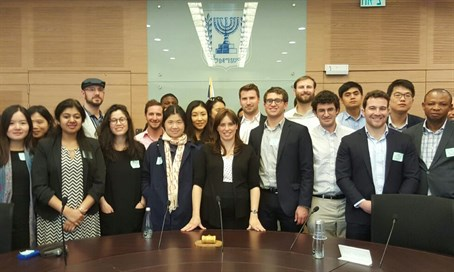 Hotovely with the students