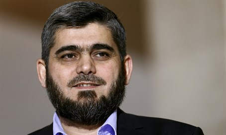 Mohammed Alloush, Syrian opposition negotiator
