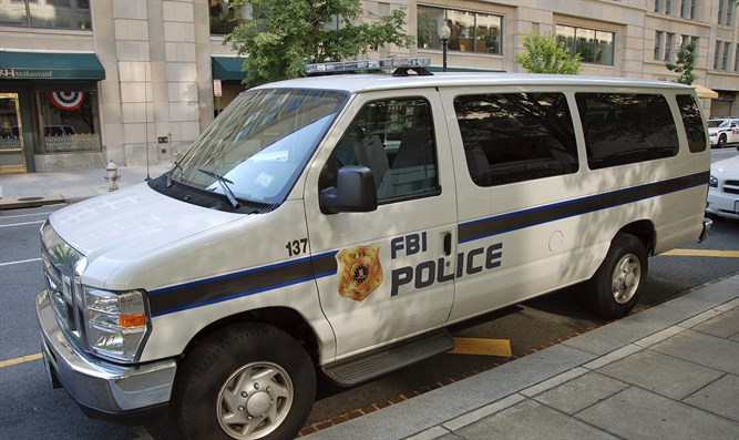 FBI police car (illustration)