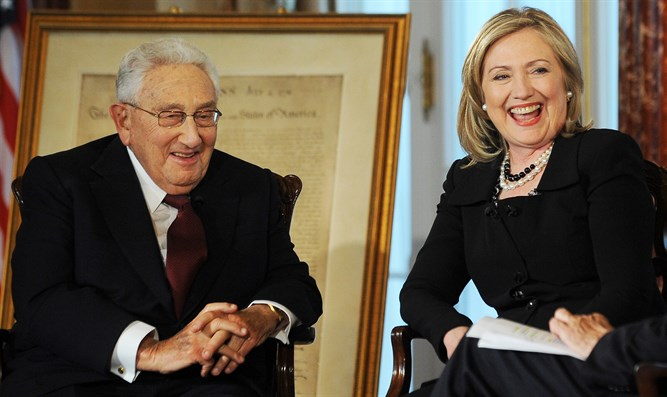 Clinton and Kissinger interviewed by Charlie Rose, April 20, 2011