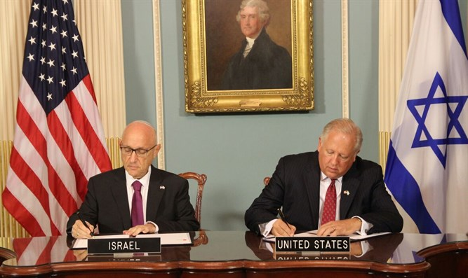 Signing of defense aid agreement