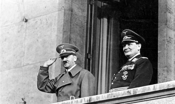 Adolf Hitler and Hermann Göring in Berlin