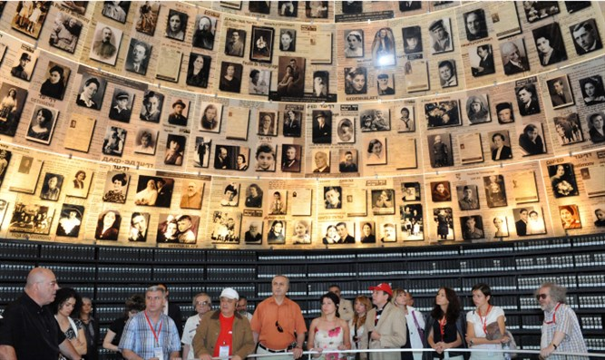 In Yad Vashem's Hall of Names