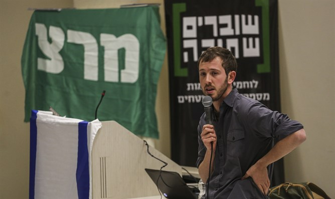 Students attend talk given by Breaking The Silence at Hebrew University