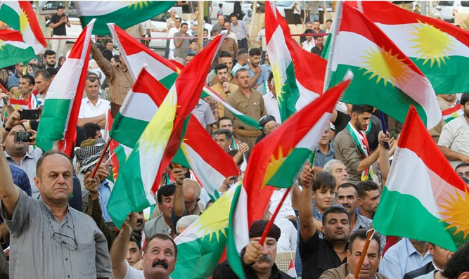 Kurds celebrate upcoming referendum