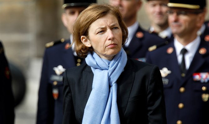 French Defense Minister Florence Parly