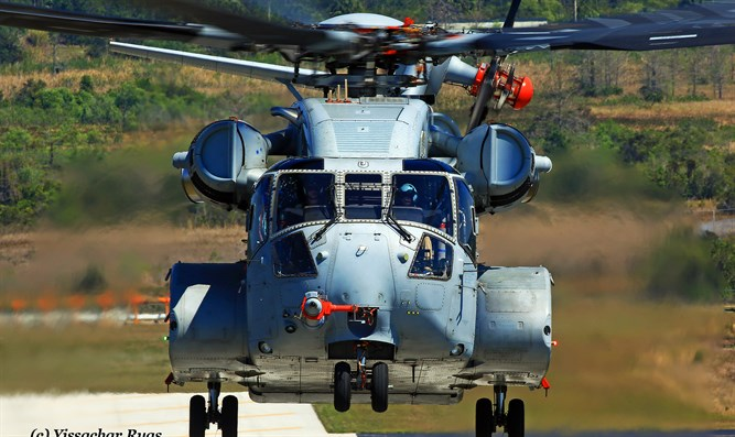 The CH-53 Stallion