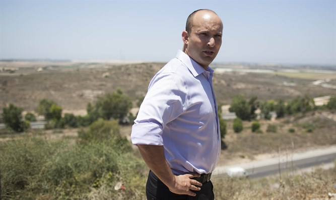 Bennett at Gaza border