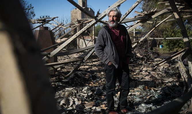 Yoram Raanan surveys devastation